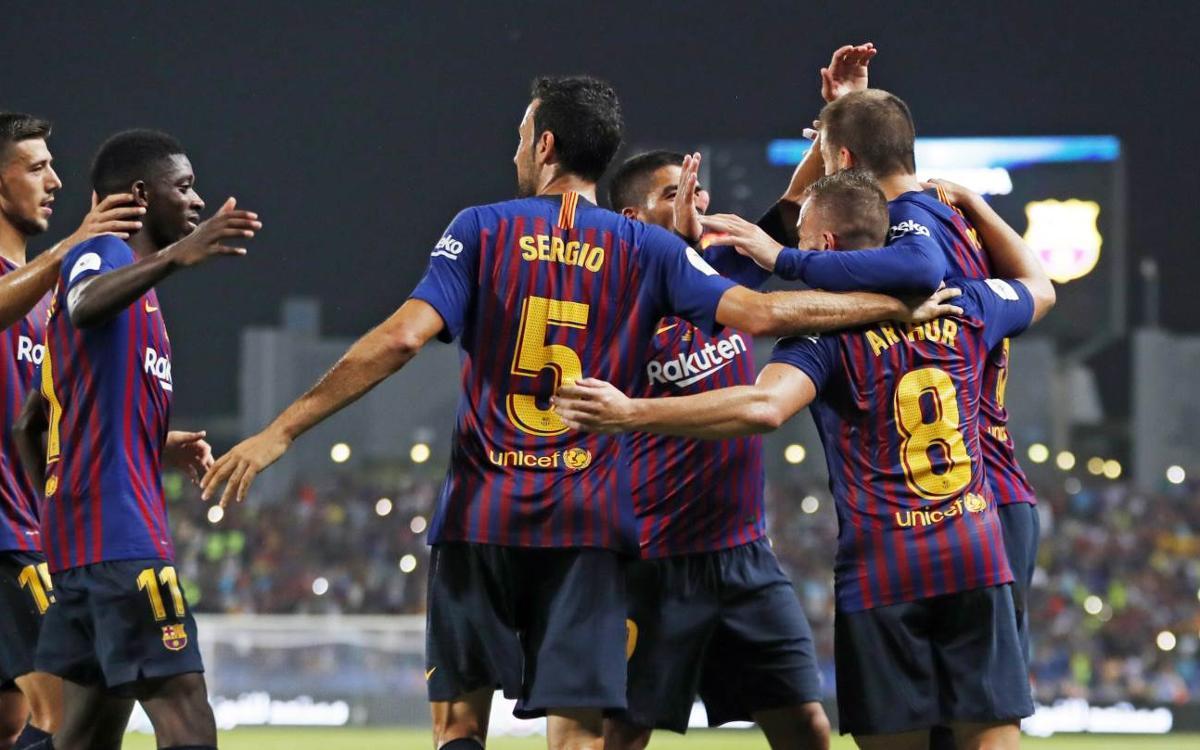 Sevilla FC – FC Barcelona: Super Cup Champions! (1-2)
