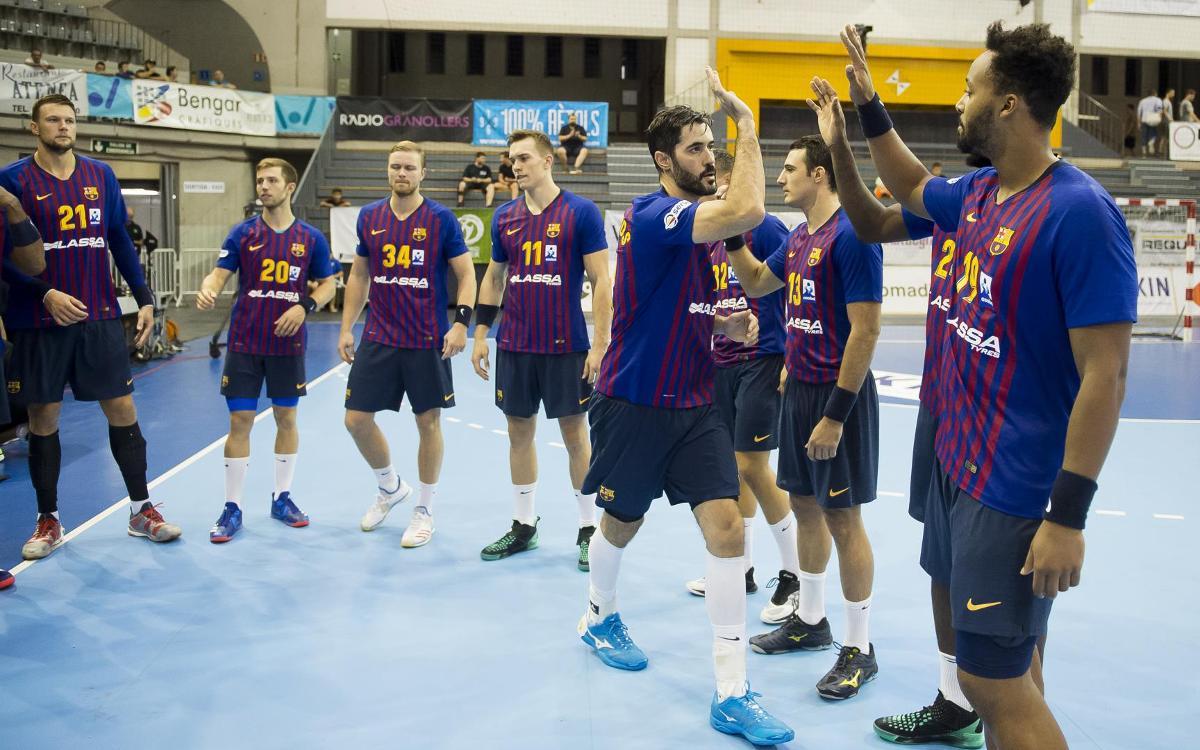 Setmana de tres partits en set dies per al Barça Lassa