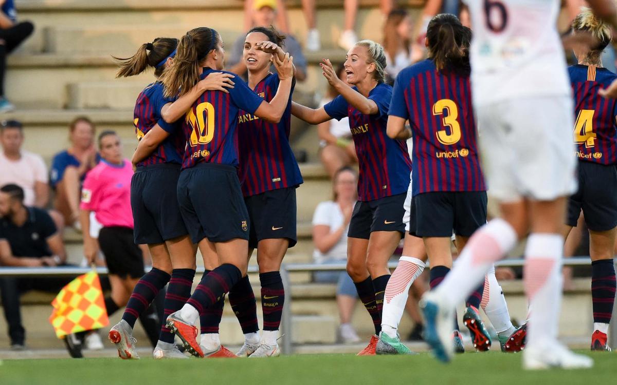FC Barcelona Femenino - Pardinyes (previa): Primer objetivo