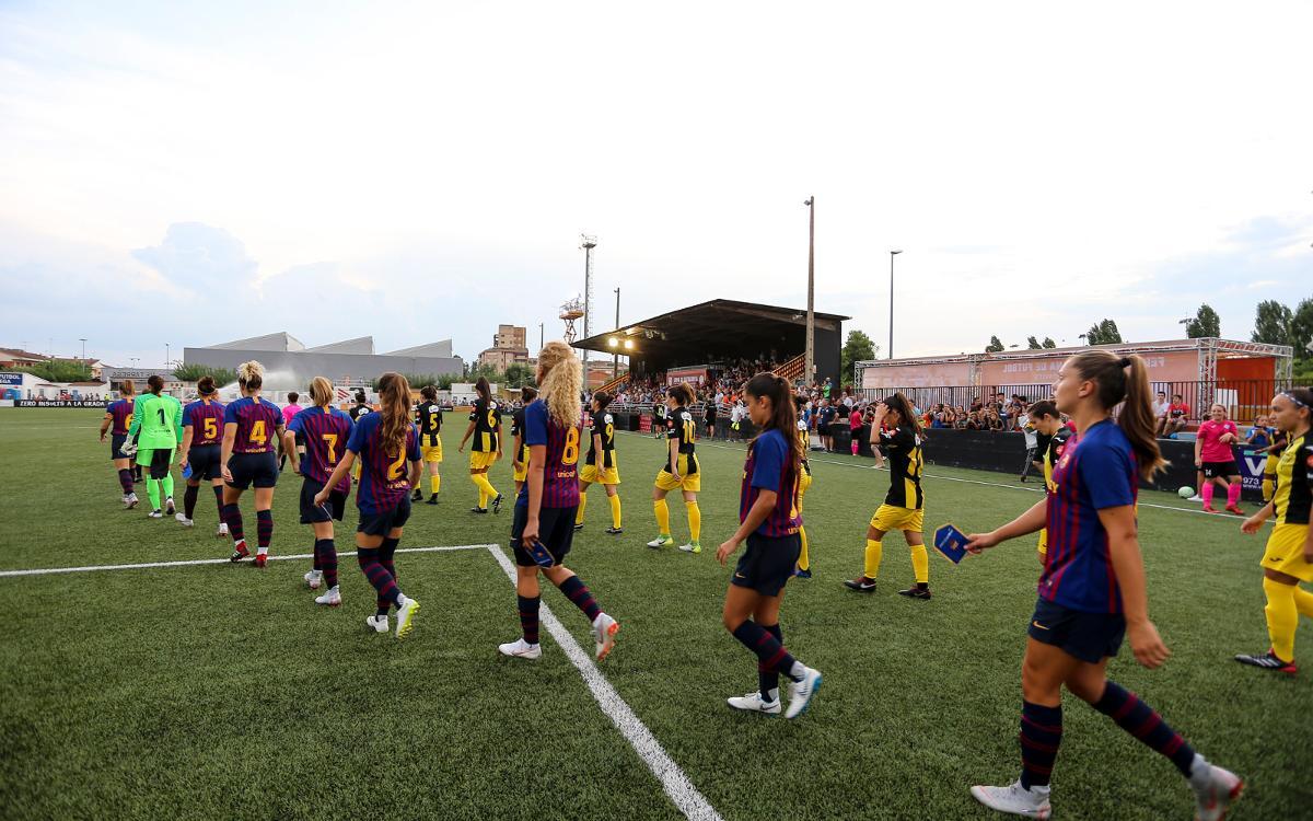 Aplazado el Barça Femenino-Levante del domingo