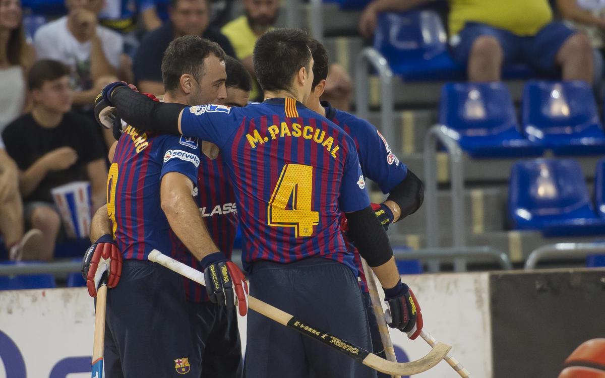 FC Barcelona Lassa - Caldes Recam Láser  Estreno con victoria (4-0) b1b2519216a