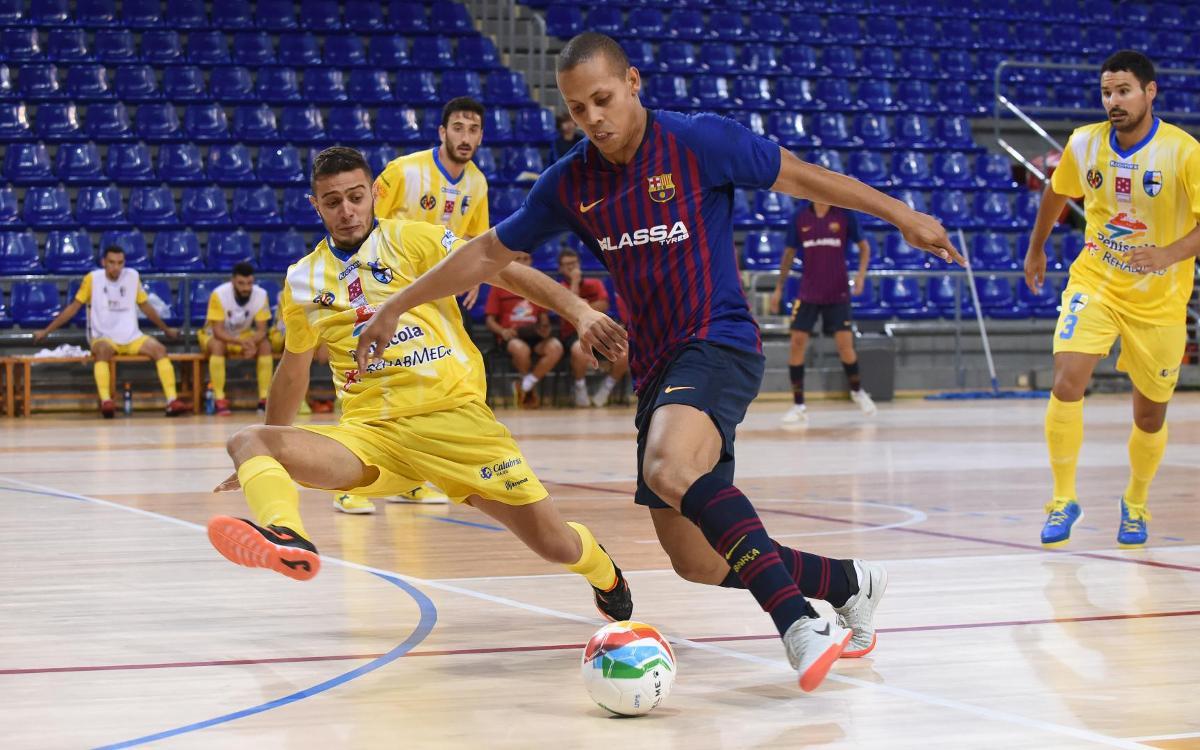 Toque de atención en un partido loco contra el Peñíscola (4-5)