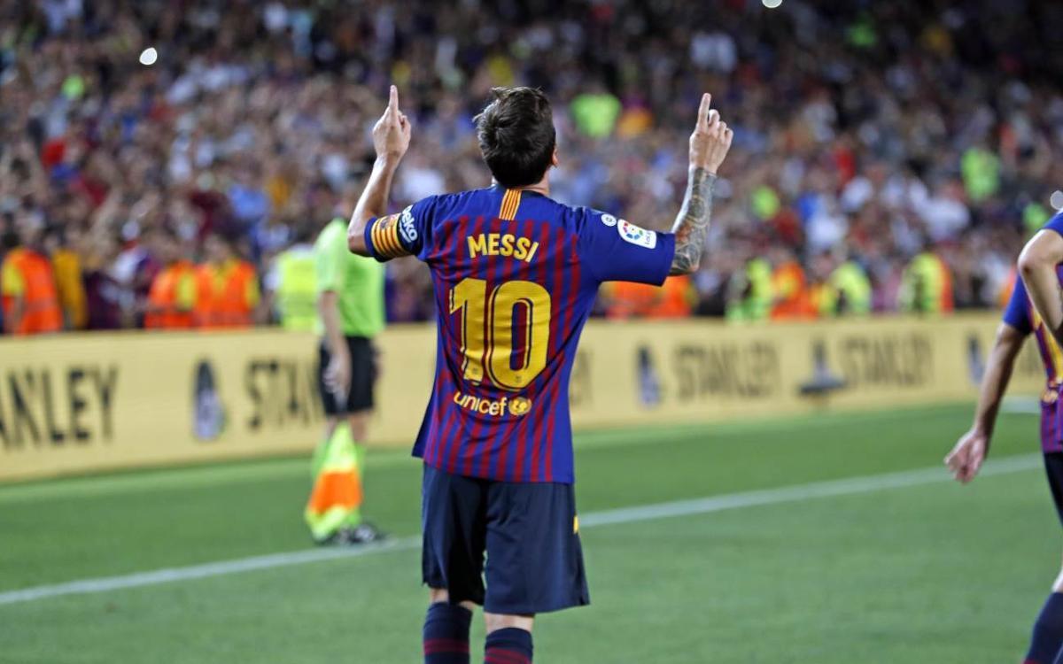 FC Barcelona reach 6,000 LaLiga goal mark
