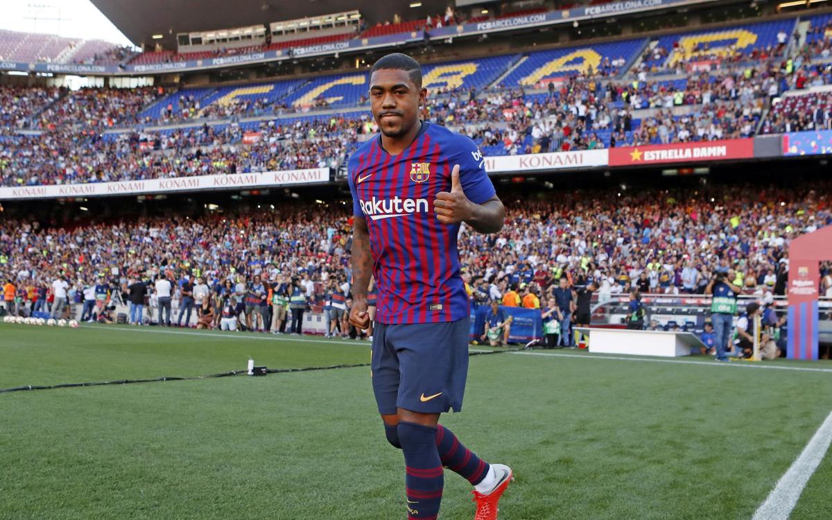 Malcom: 'Experiencing the Camp Nou is a dream come true'
