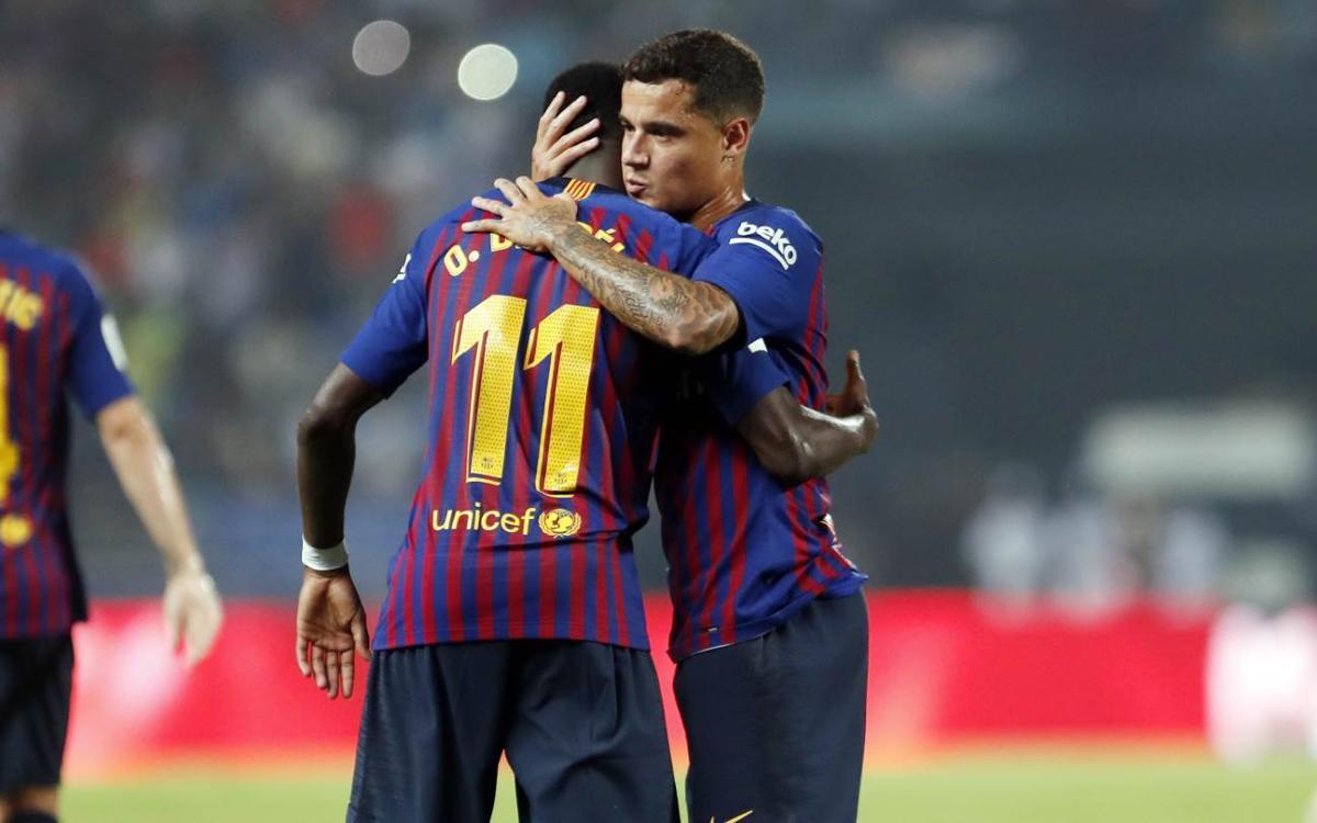 L'agenda dels jugadors internacionals del FC Barcelona