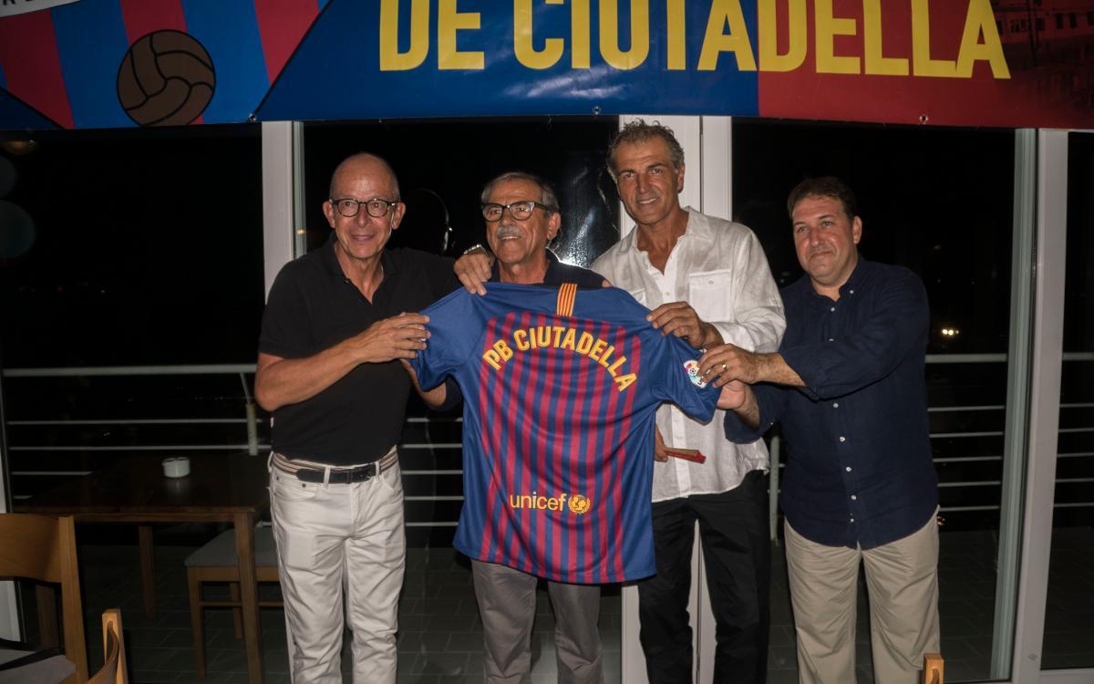 """La Penya de Ciutadella celebra el seu 34è aniversari amb el """"Sopar del Doblet"""""""