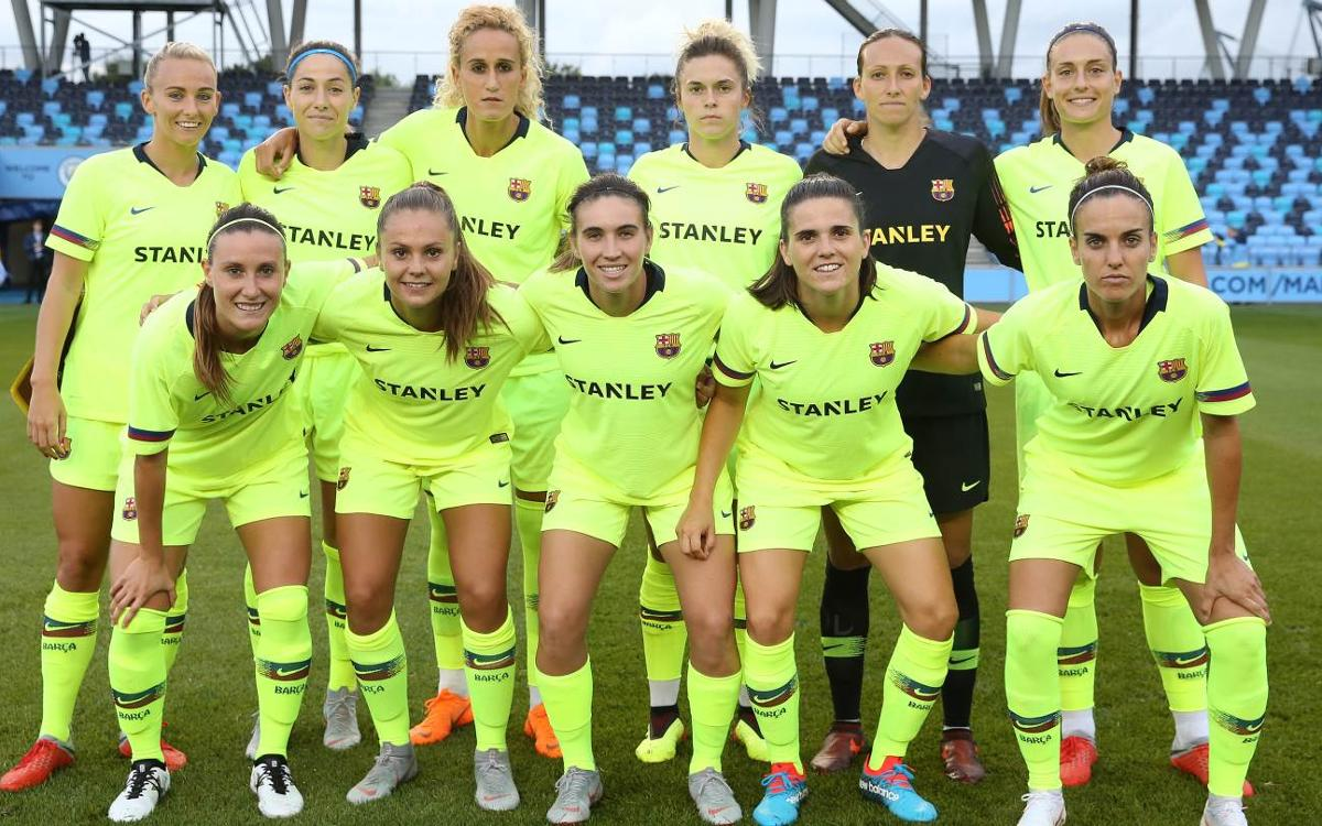Manchester City vs Barça Women; Defeat in a tight contest (2-0)