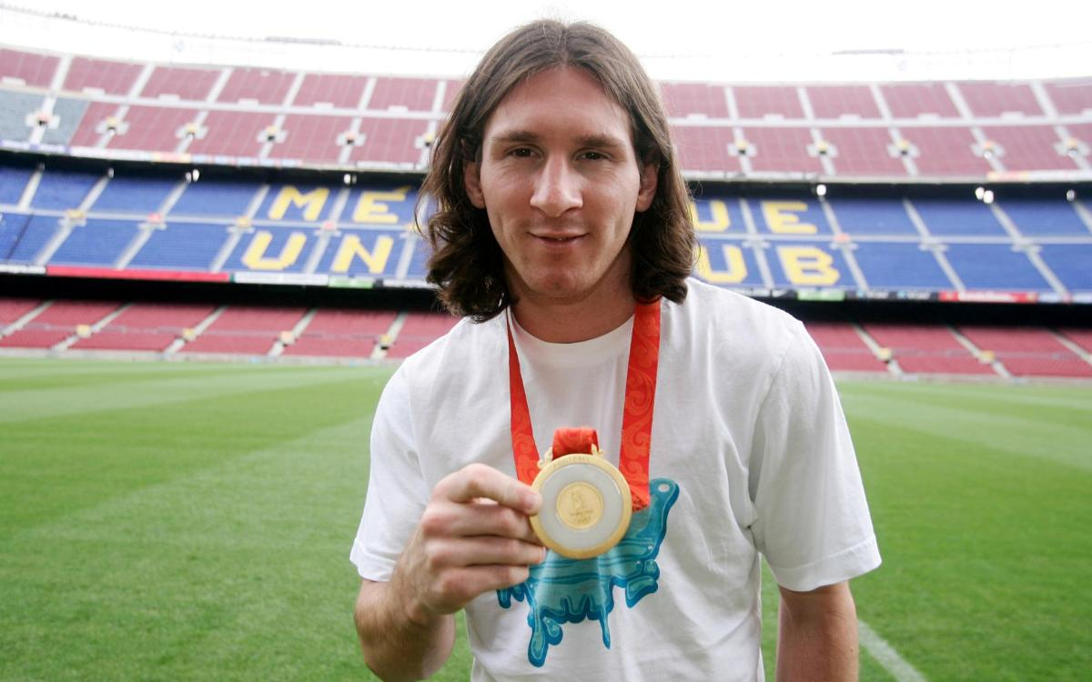 10 years since Messi's Olympic gold