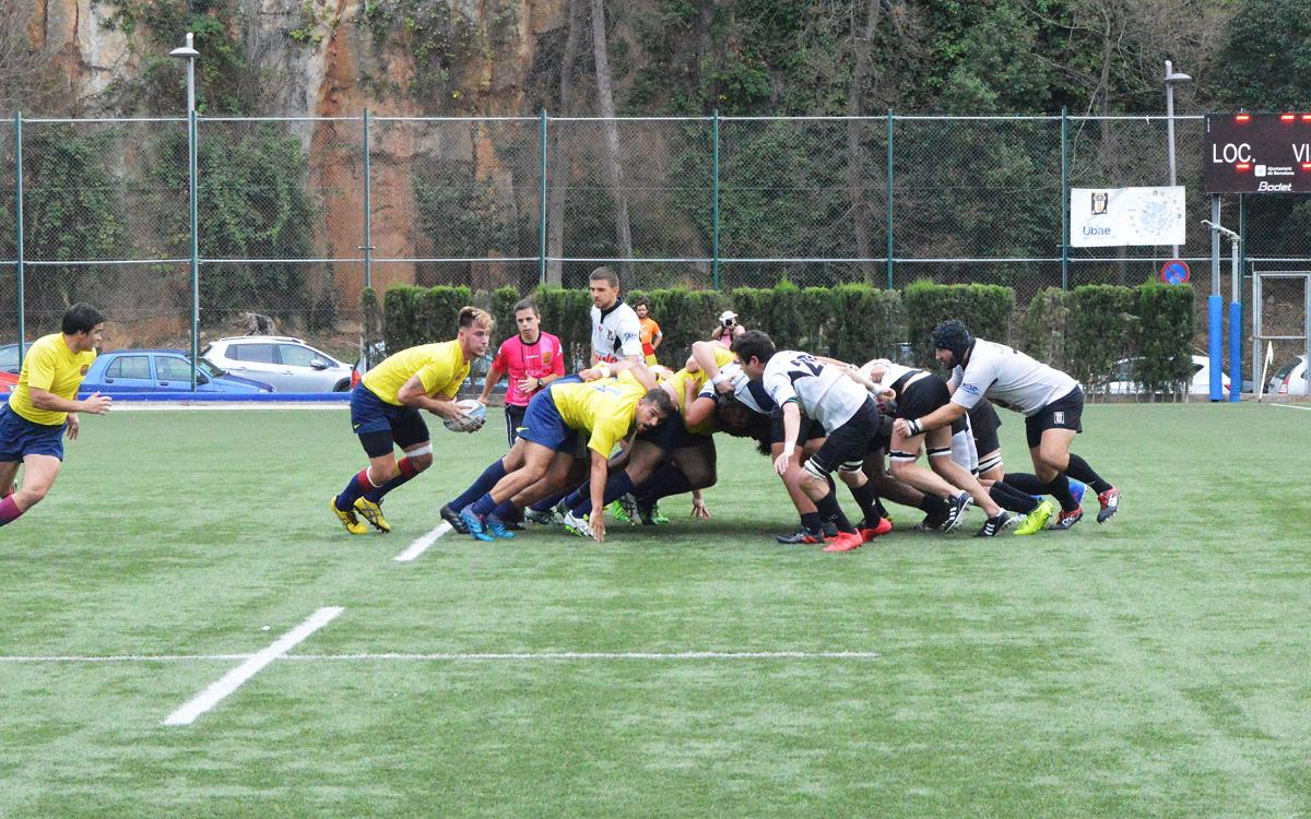 El Barça de rugbi guanya i convenç (12-64)