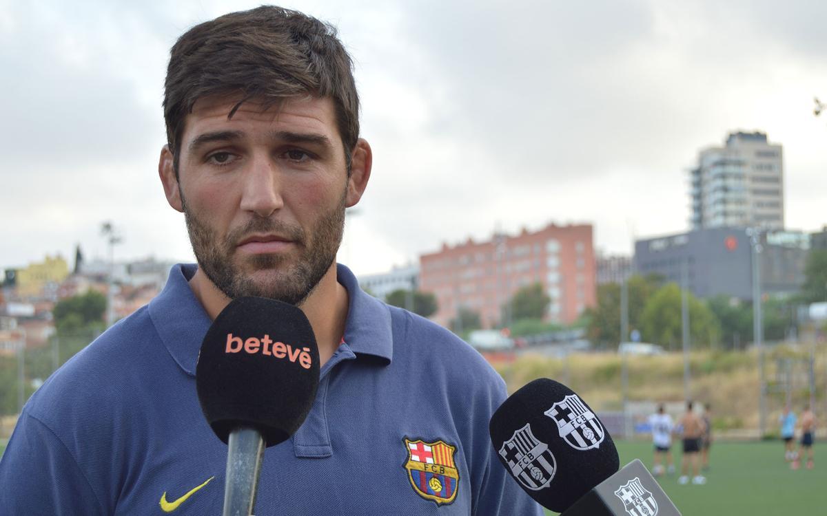 El Barça de rugby vuelve al trabajo con Sergi Guerrero al timón