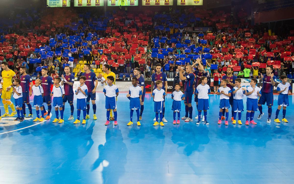 Las entradas para el Futsal, ya a la venta