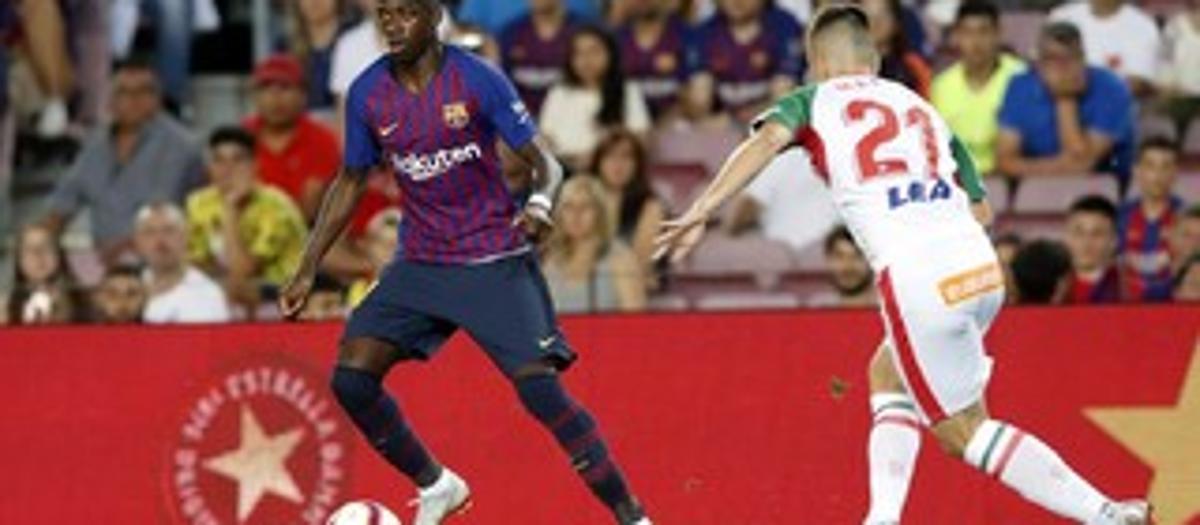 FCバルセロナ3 - アラベス 0