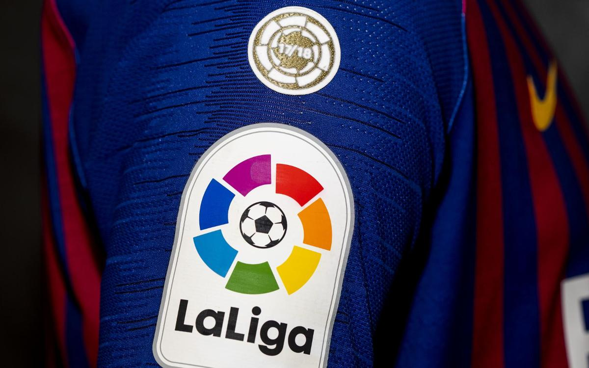 best service aada1 5e478 Barça to debut new LaLiga champions badge