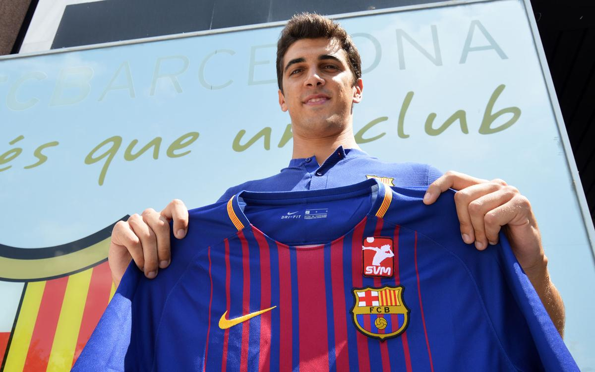 El Barça de Volei renova l'eix vertebral de l'equip
