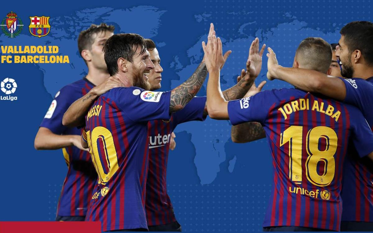 When and where to watch Valladolid v FC Barcelona