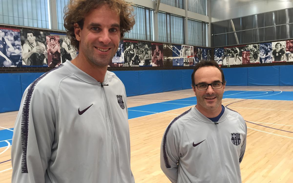Los entrenadores del baloncesto formativo