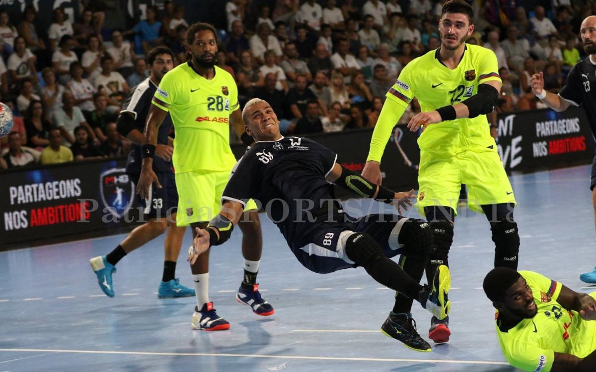 Montpellier HB - Barça Lassa: Buena nota en la segunda prueba de nivel (27-34)