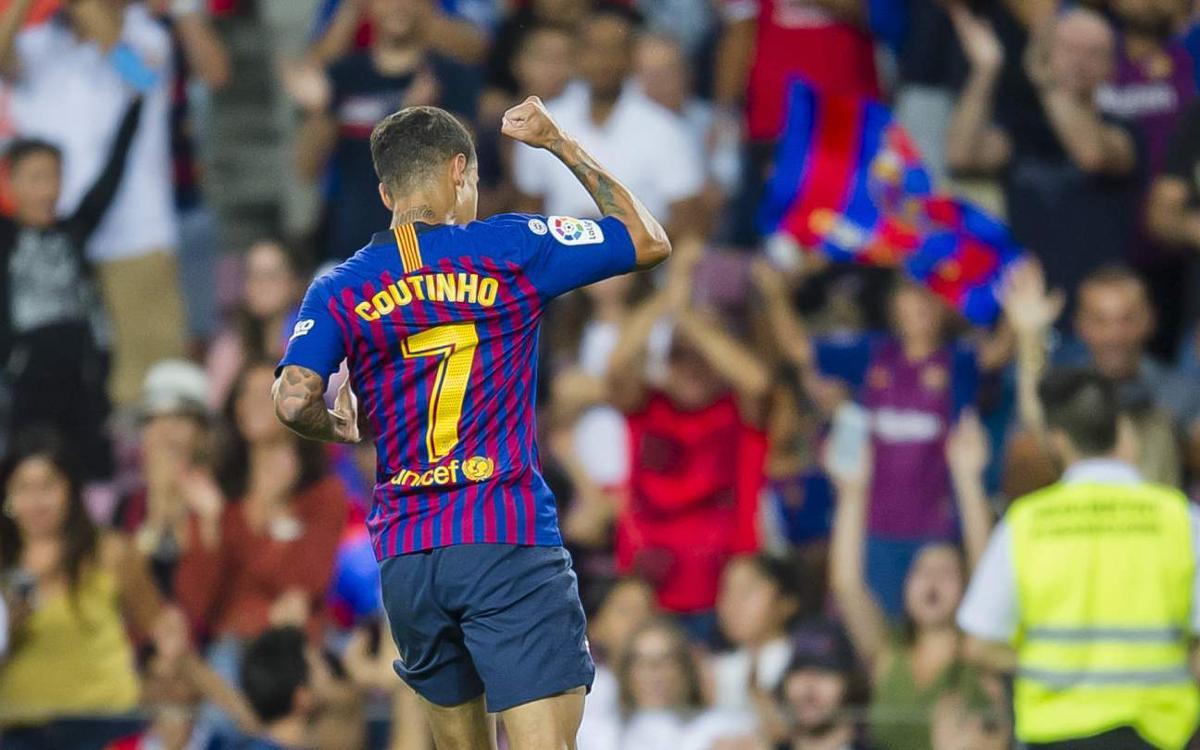 Los goles del FC Barcelona - Alavés