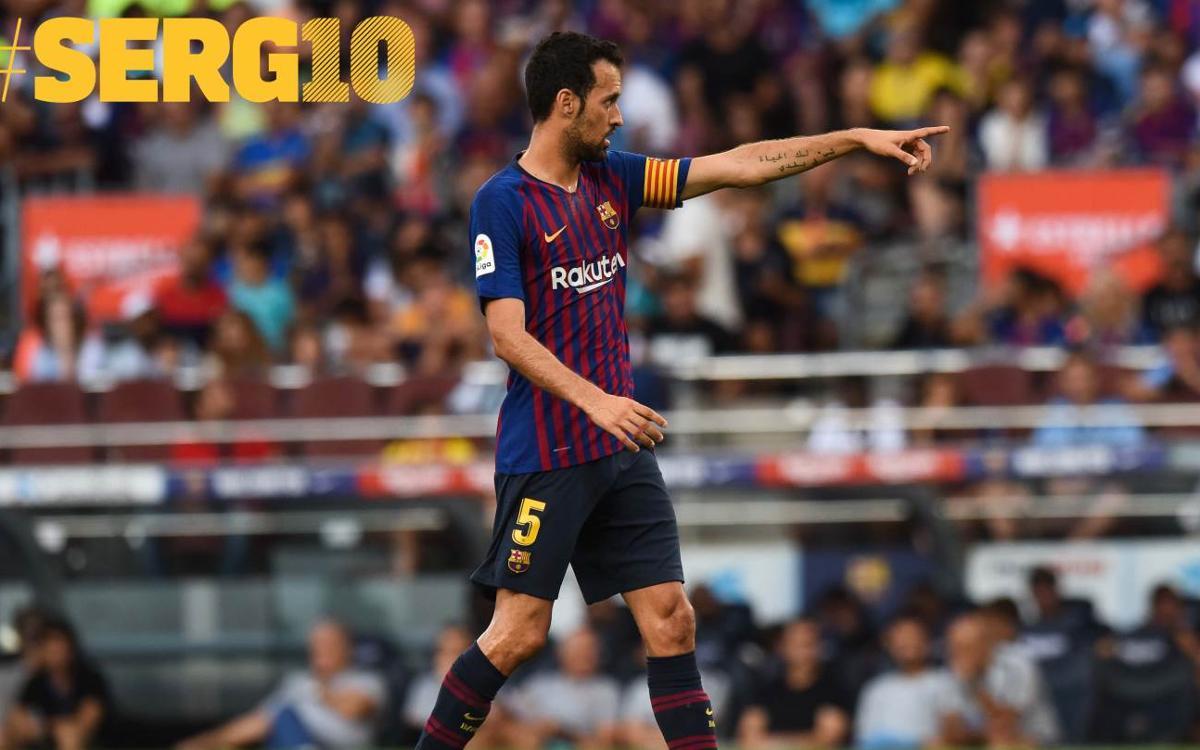 """Sergio: """"Mai hauria imaginat guanyar tants títols"""