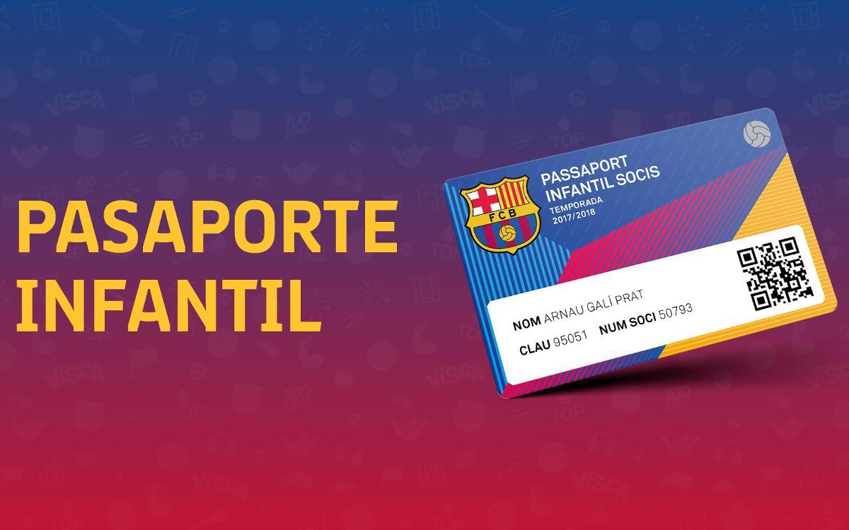 Pasaporte Infantil