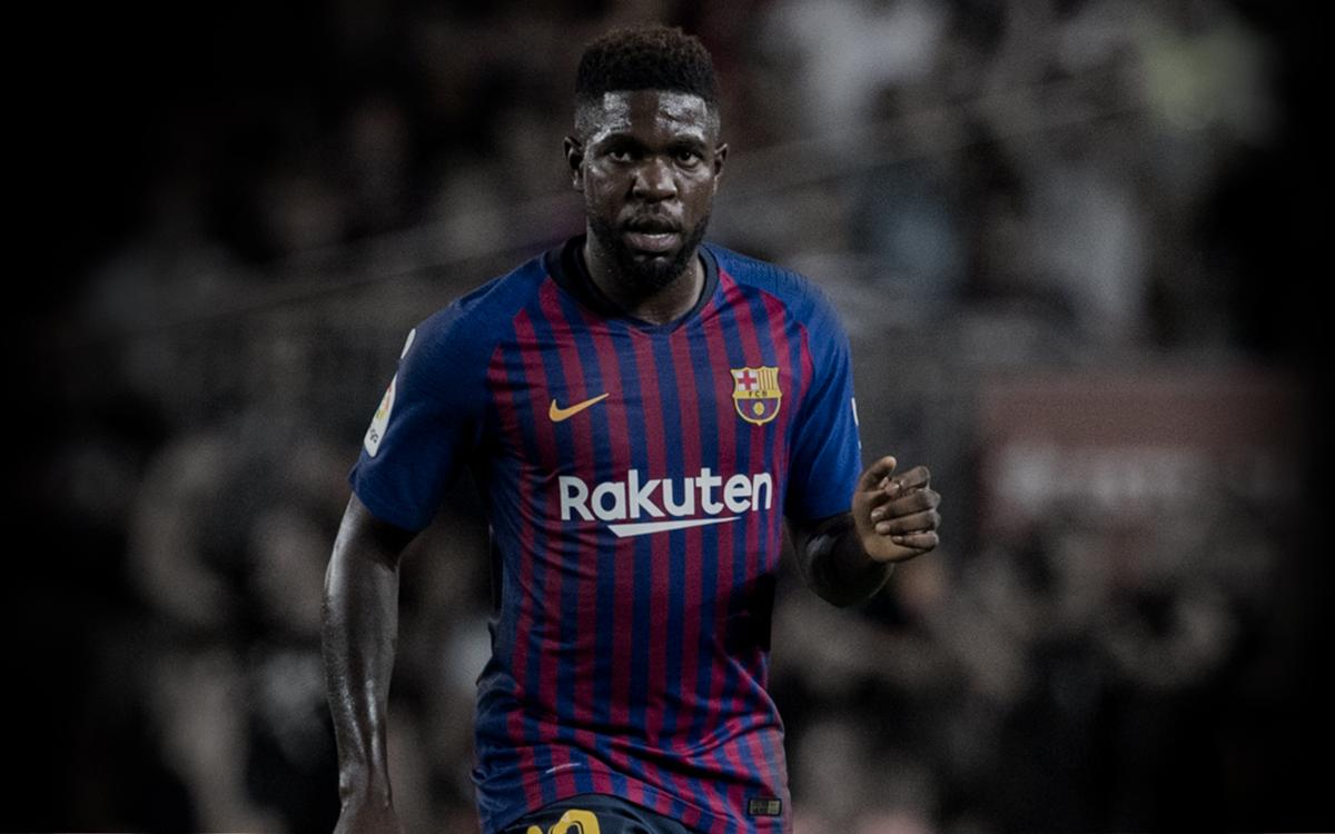 new product 46b51 0799d Samuel Umtiti | Player page for the Defender | FC Barcelona ...