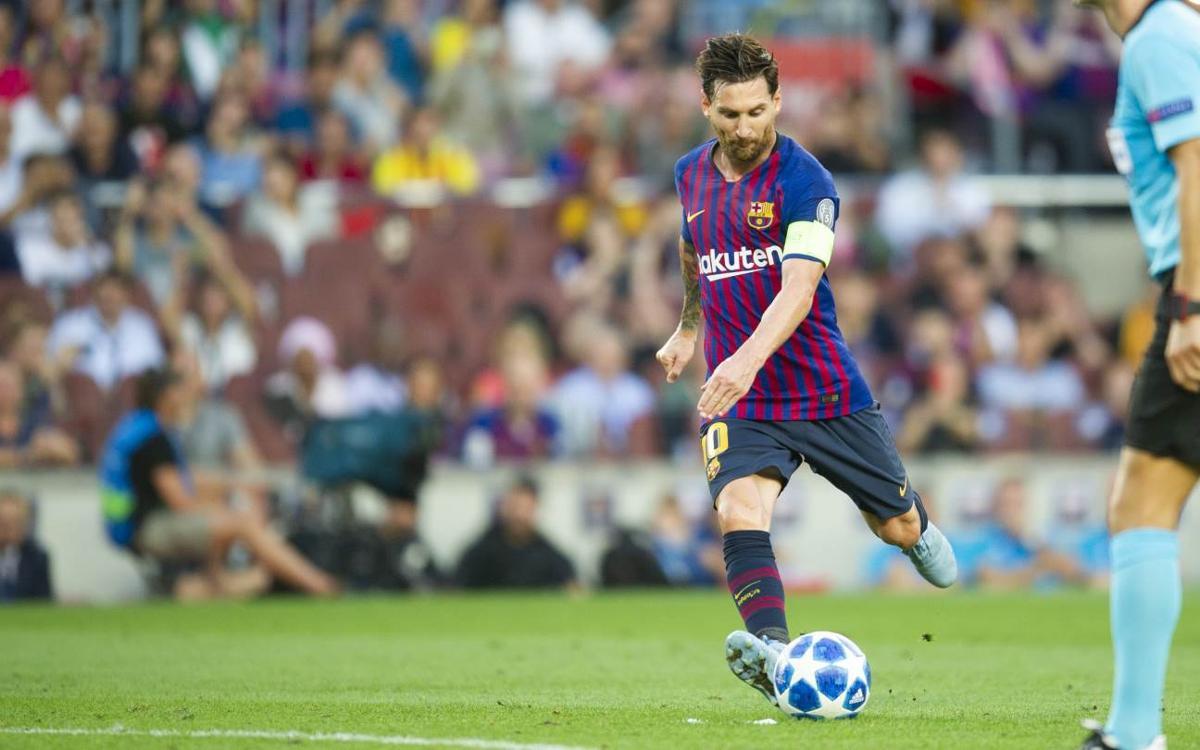 Nuevo récord de Messi: octavo gol de falta en un año natural