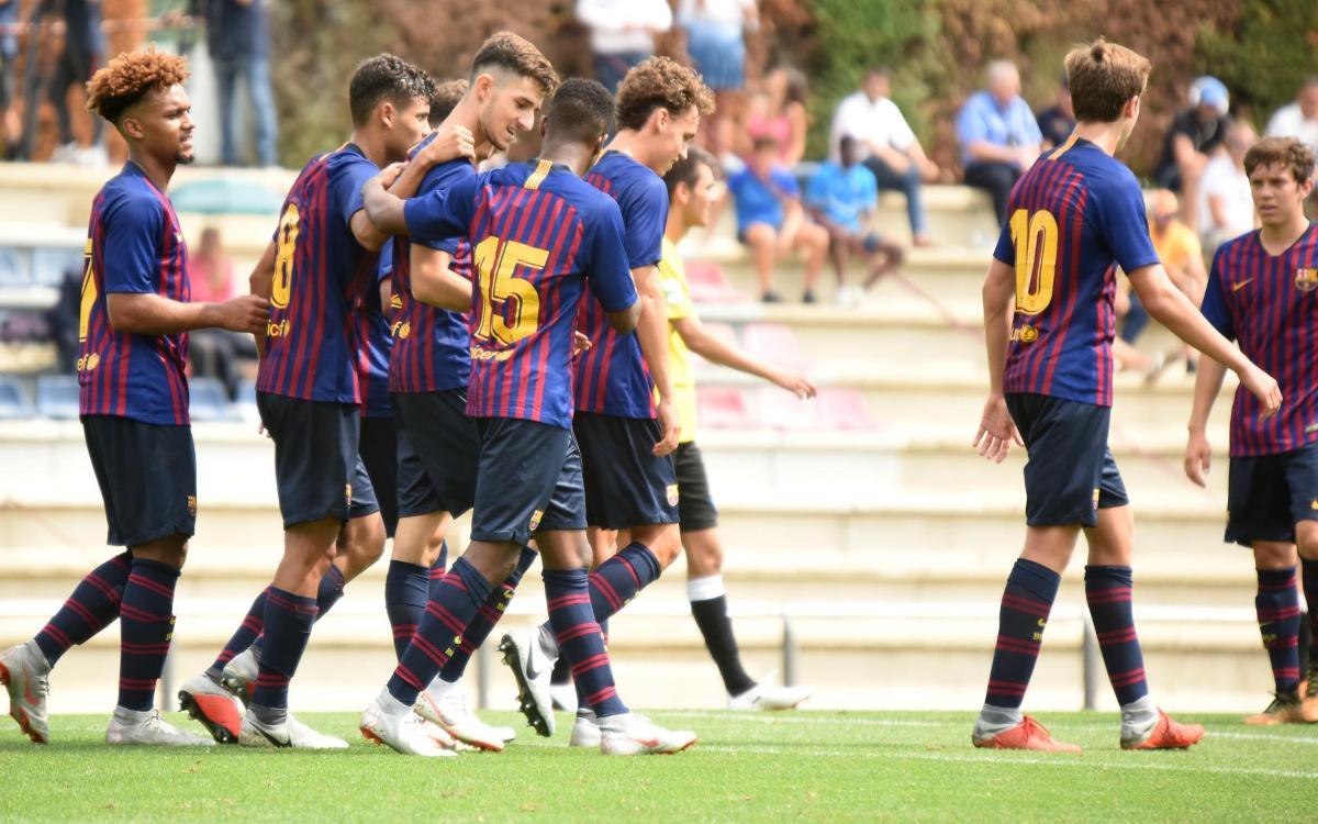 Juvenil A – Lleida Esportiu: Tres punts en l'estrena a casa (2-0)