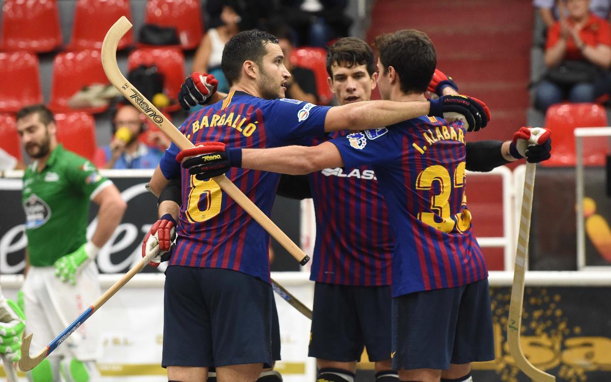 Liceo v Barça Lassa: Victory on debut in OK Liga! (4-5)