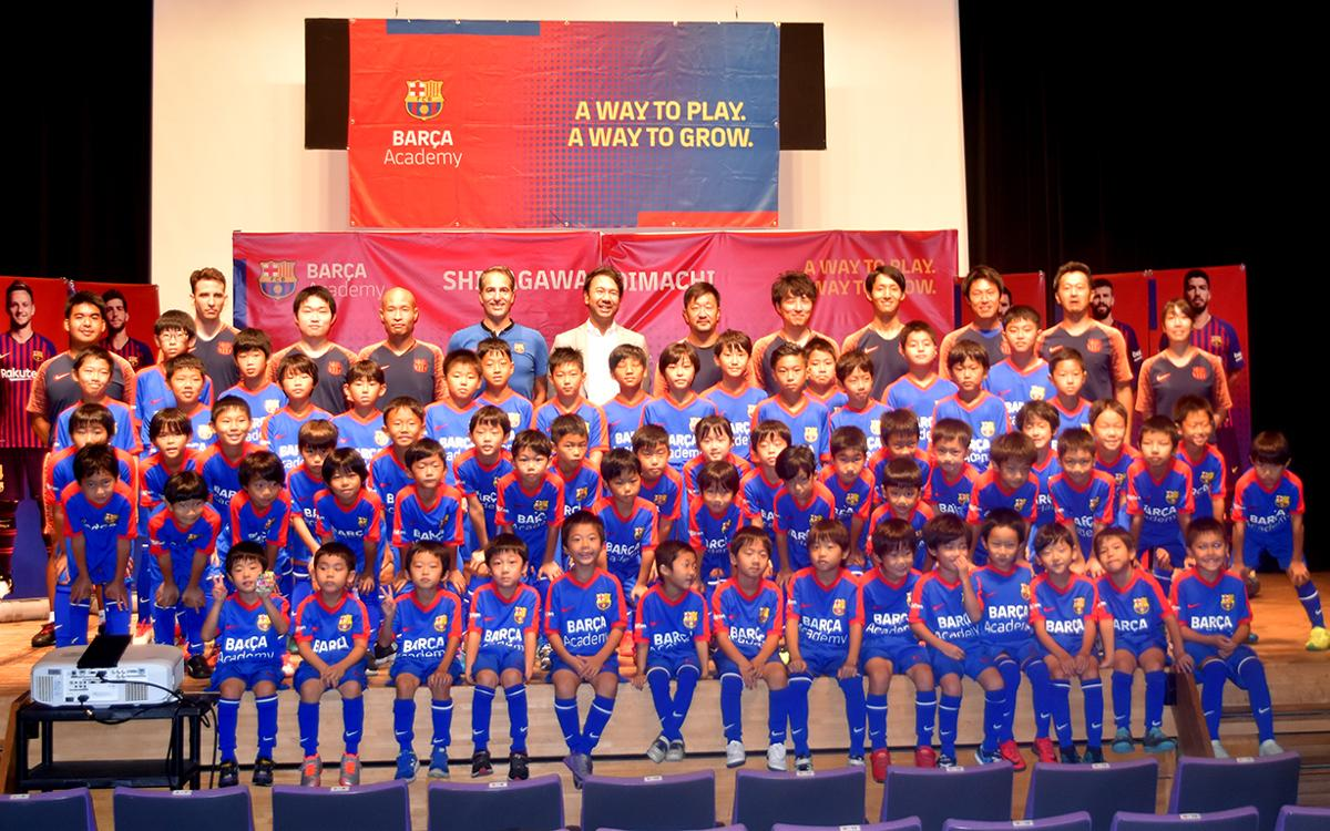 Barça Academy Shinagawa Oimachi opens doors in Japan