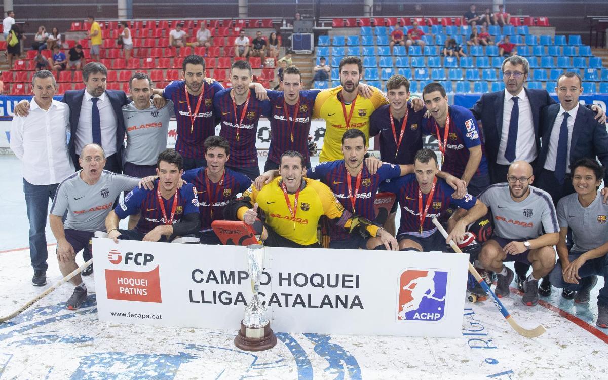 La Liga Catalana del siglo XXI ya tiene color azulgrana
