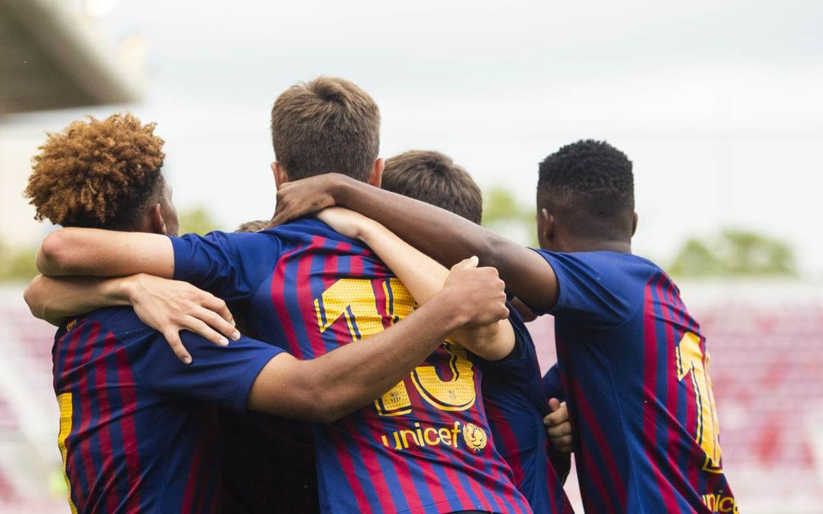 FC Barcelona U19A - PSV: The defence of the title starts with a win (2-1)
