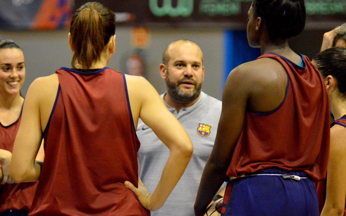 Barça – Uni: el objetivo es competir