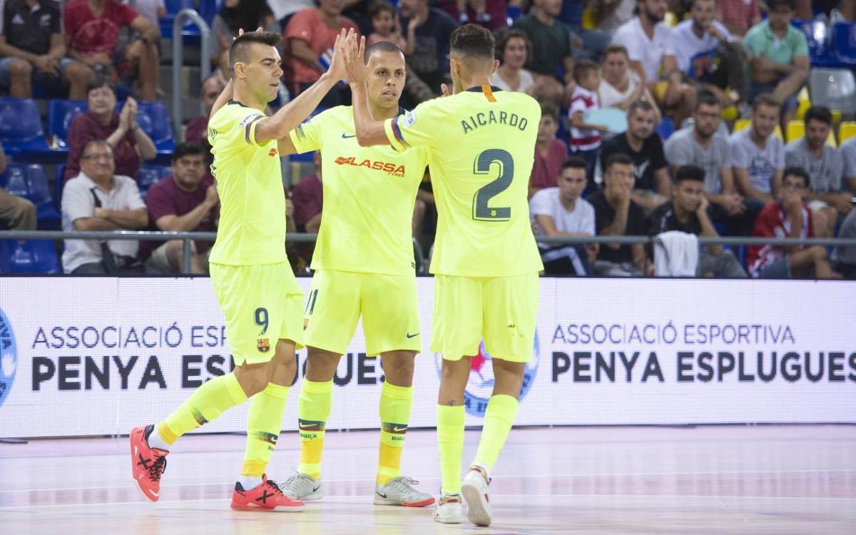 AE Penya Esplugues 3-7 Barça Lassa: Copa Catalunya finalists