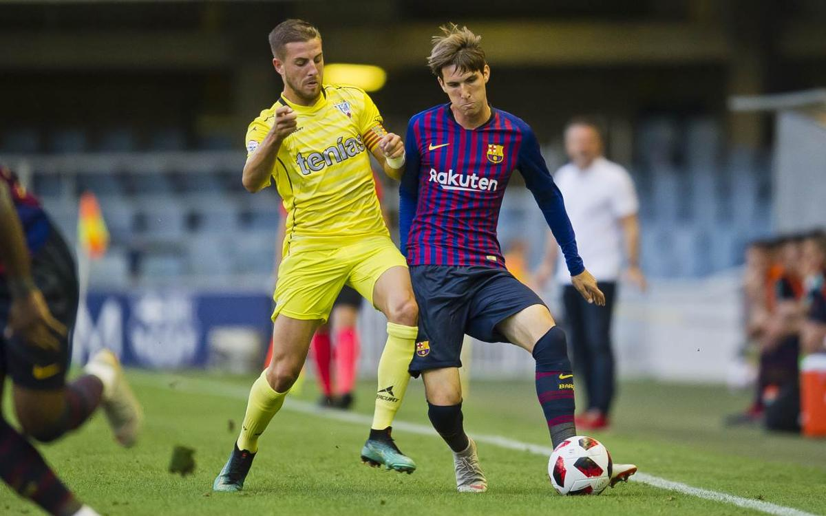 FC Barcelona B 0-1 SD Ejea: Home debut defeat
