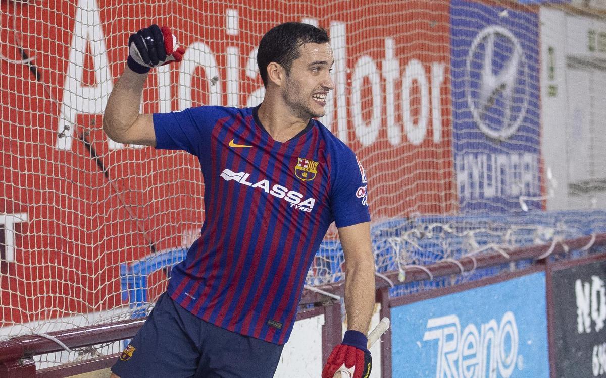 FC Barcelona Lassa - Lleida Llista Blava: ¡Campeones de la Liga Catalana! (1-0)