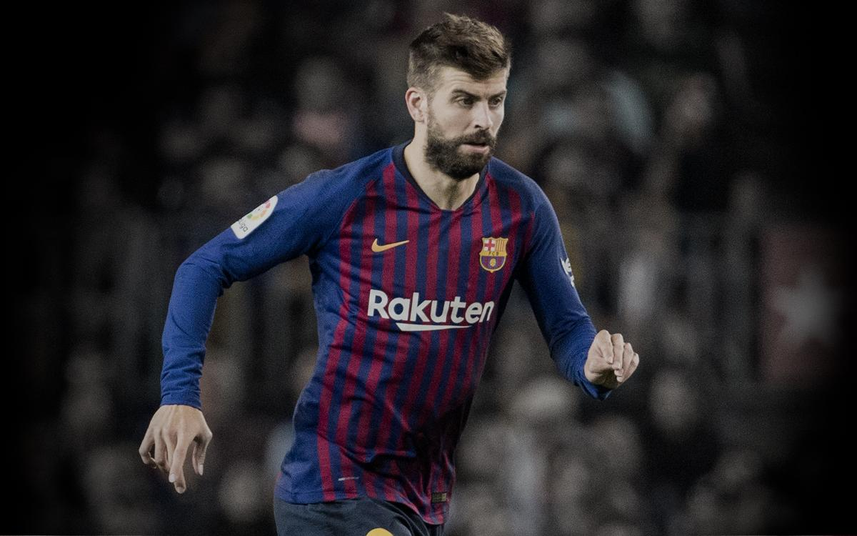 factory authentic 36ab0 ec1c8 Gerard Piqué | Player page for the Defender | FC Barcelona ...