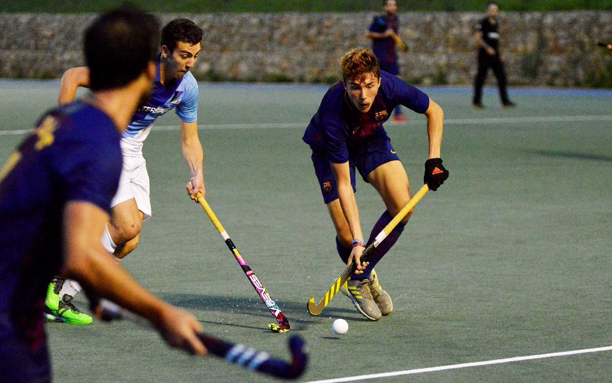 Un punto valioso para el Barça de Hockey Hierba que se estrena en la liga