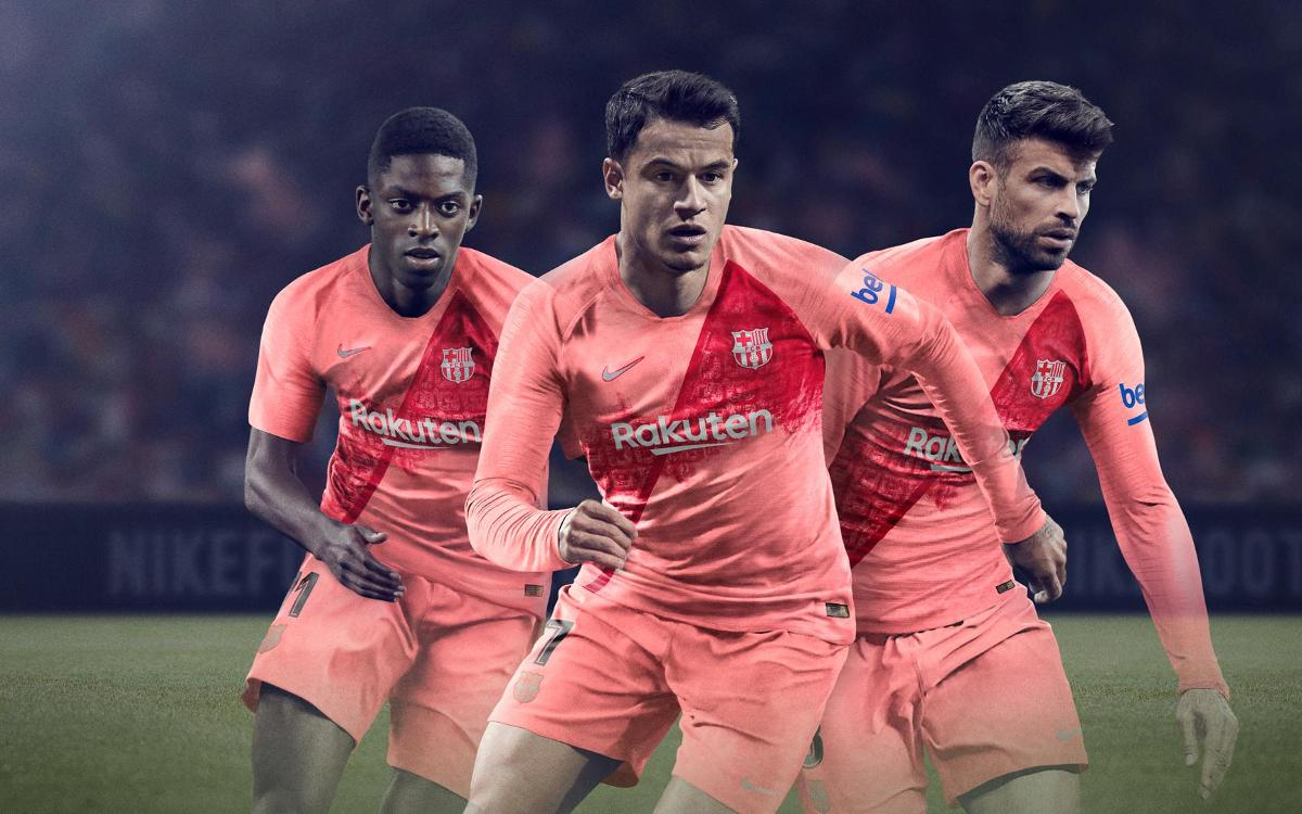 wholesale dealer 96822 1dde6 Homage to Barcelona: Launch of third strip for 2018/19 season