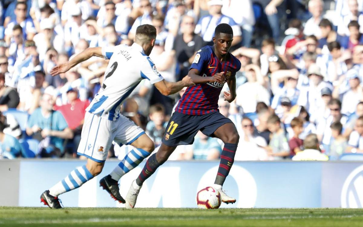 Another decisive performance from Ousmane Dembélé