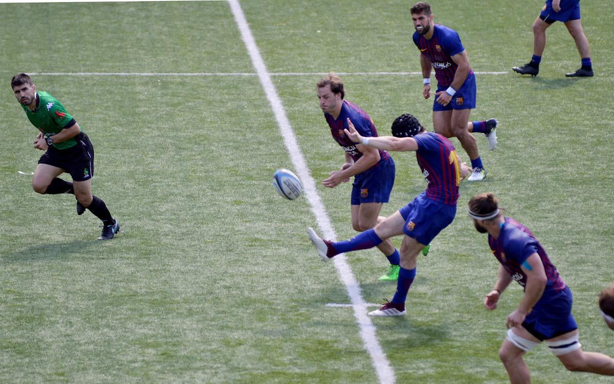 UBU-Colina Clinic - Barça Rugby: la liga vuelve a Burgos