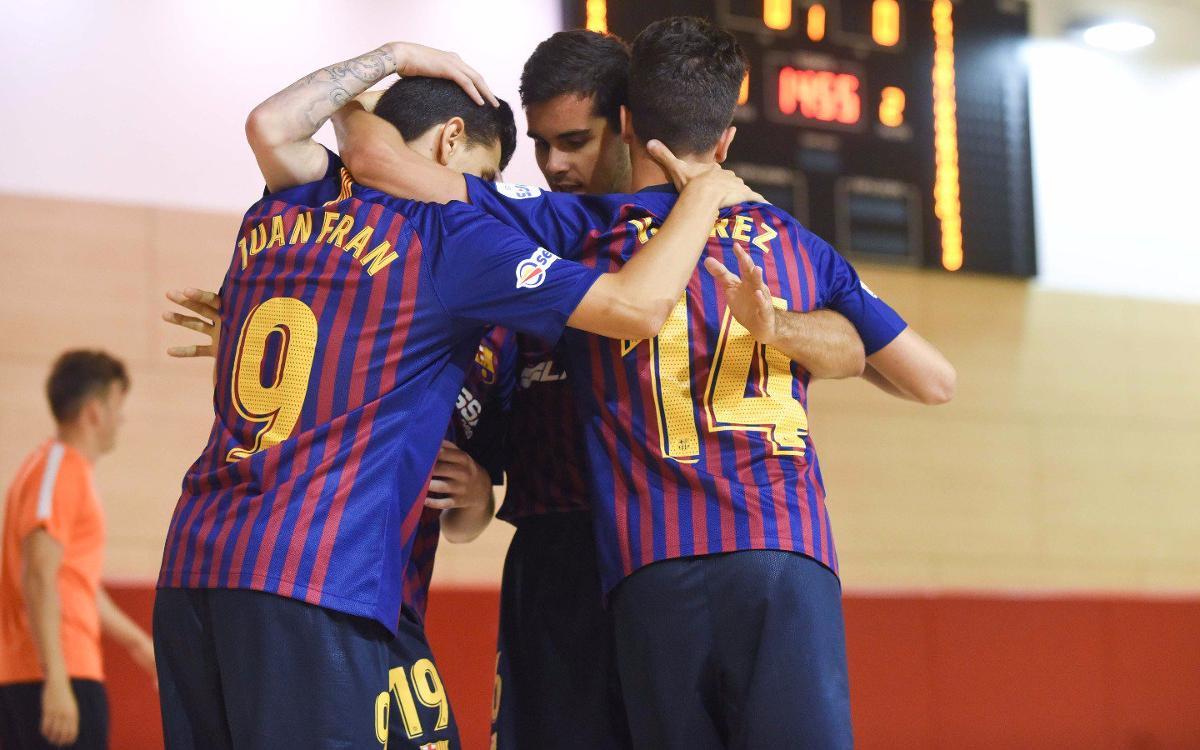 Manzanares FS – Barça Lassa B (2-2): Empat cruel