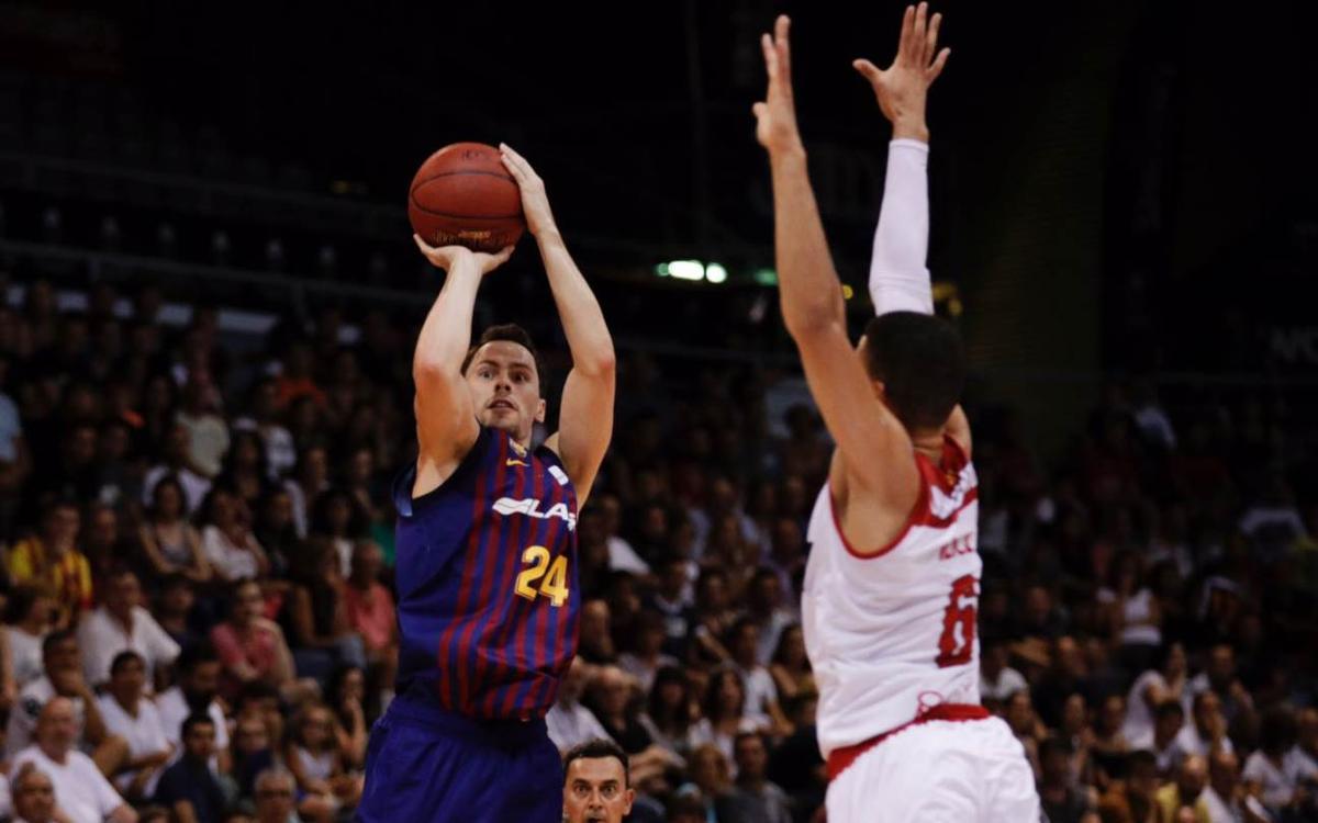 Barça Lassa v BAXI Manresa: Victory secured in final quarter (78-63)