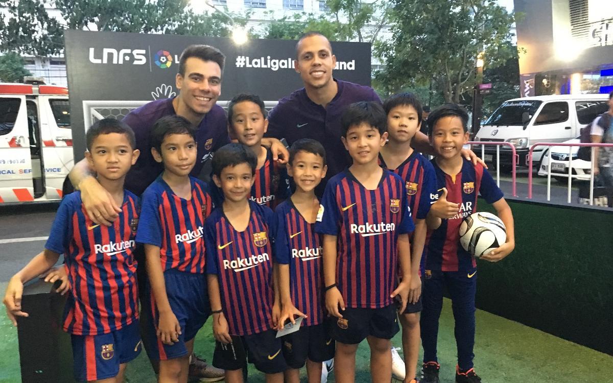 El Barça enamora a Tailàndia
