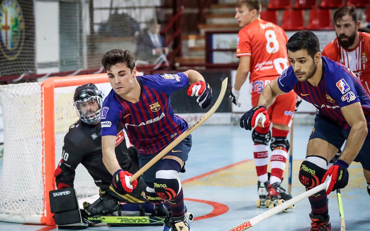 FC Barcelona Lassa – Citylift Girona HC: cap a la final de la Lliga Catalana! (4-1)