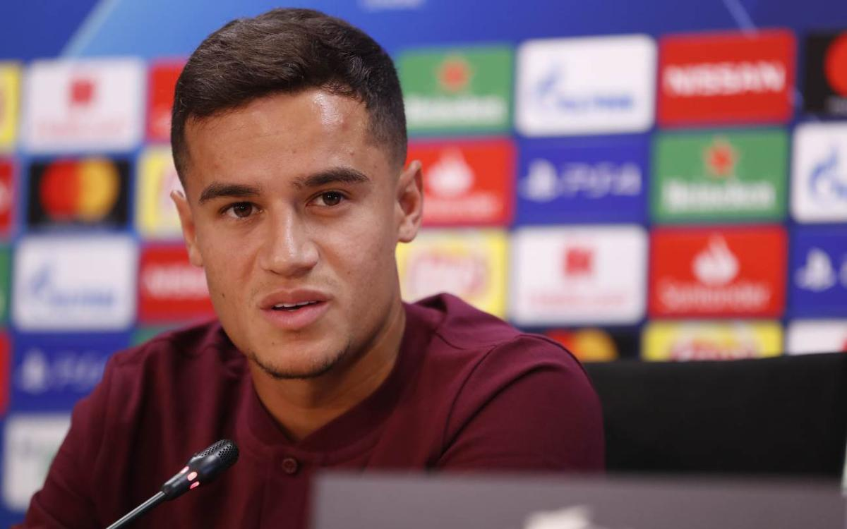 Coutinho looks forward to Champions League debut