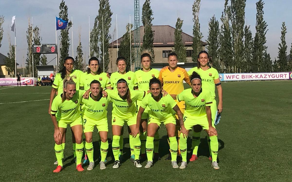BIIK Kazygurt – FC Barcelona: Tocarà remuntar al Miniestadi (3-1)