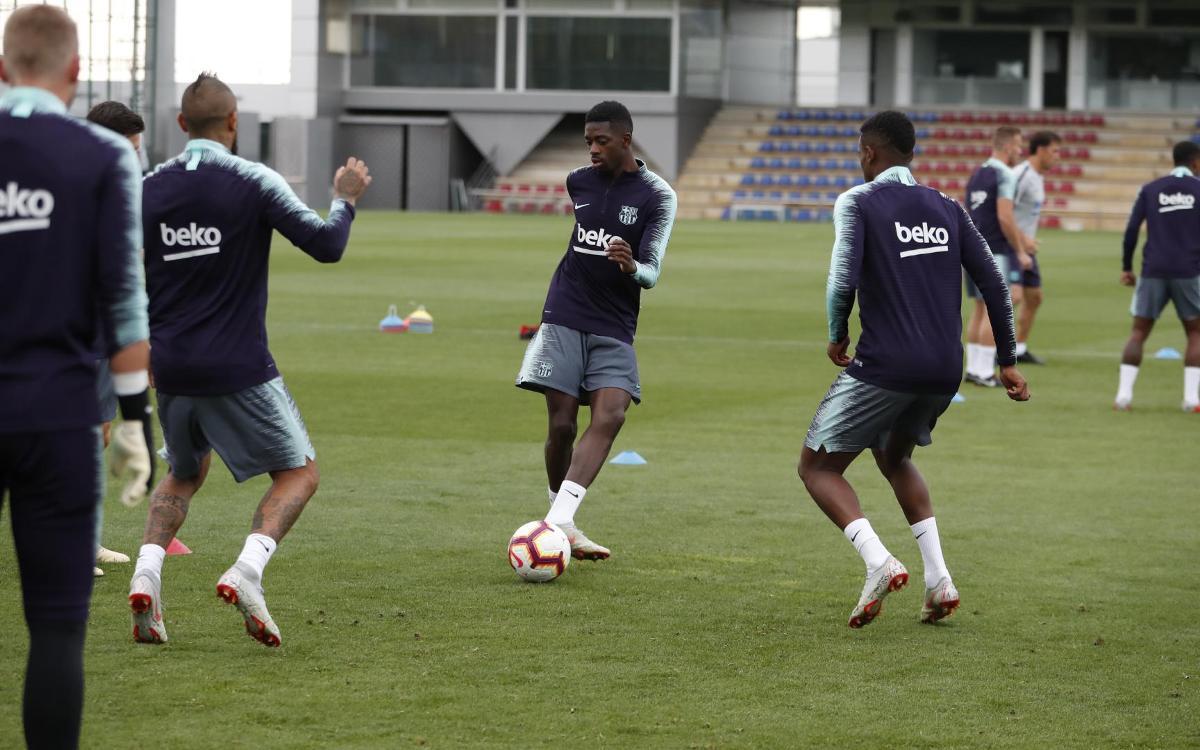 Ernesto Valverde announces squad for FC Barcelona v SD Huesca
