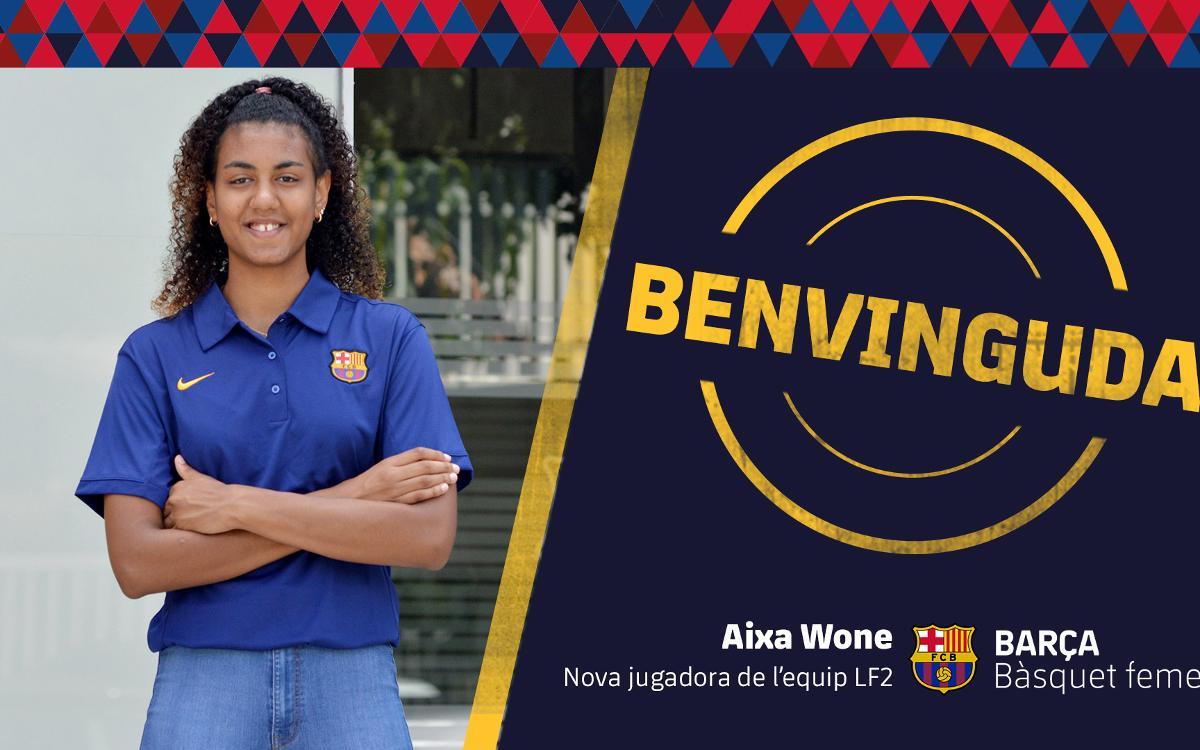 Aixa Wone s'incorpora al Barça CBS