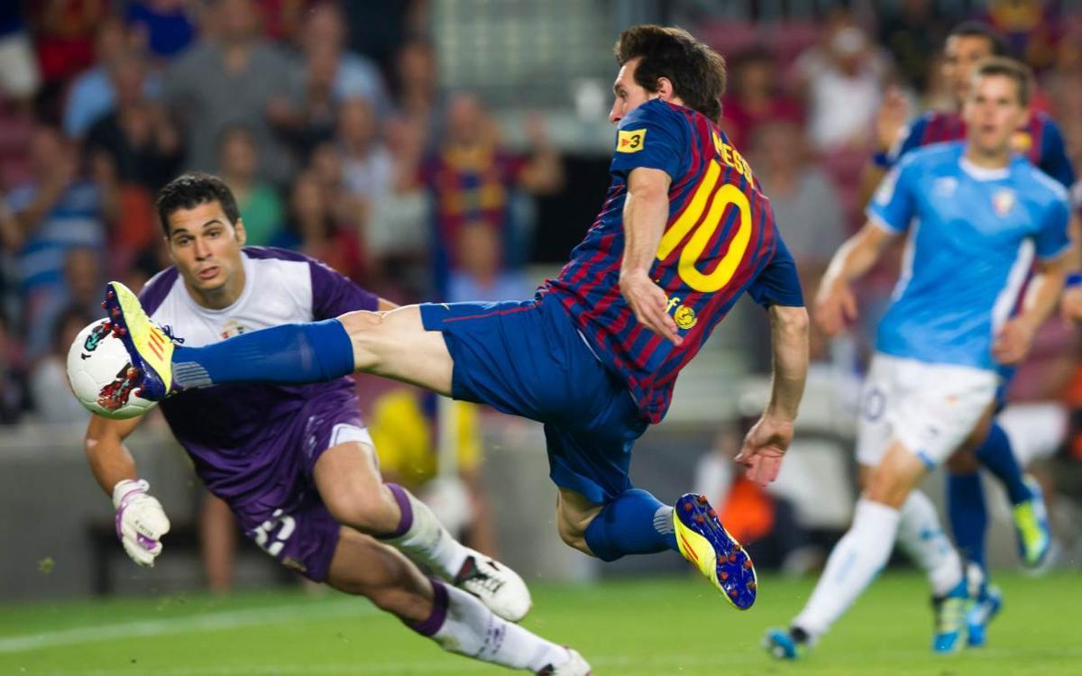 Reviu la darrera vegada que el Barça va marcar vuit gols a la Lliga al Camp Nou