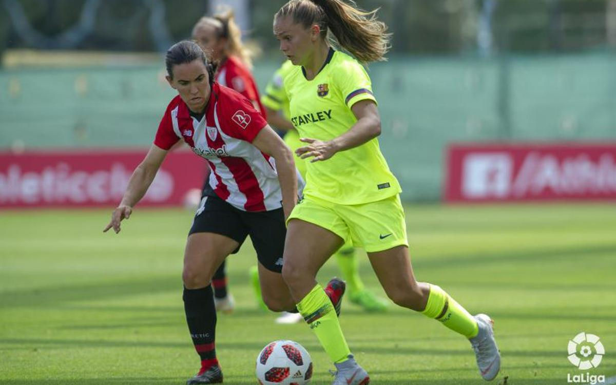 Athletic Club v FC Barcelona Women: Three points at a tough away ground (0-1)